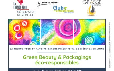 Conférence en ligne Green Beauty &  Packagings éco-responsables